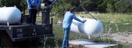 espreas para gas lp Espreas para Gas LP durante la instalación y cambio propanetankinstallation